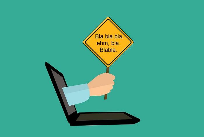 Špatné texty na webu