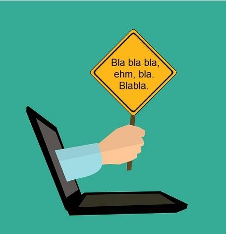 Špatné texty na internetových stránkách