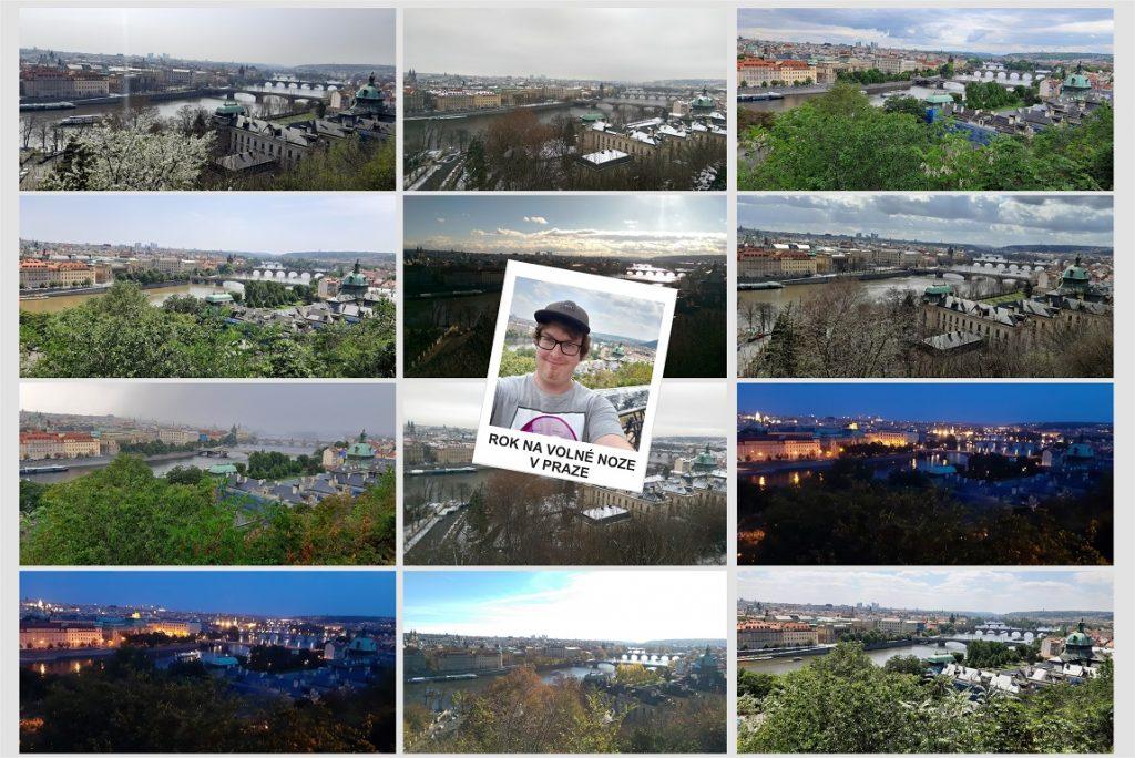 1. rok svého volnonožství jsem strávil v Praze