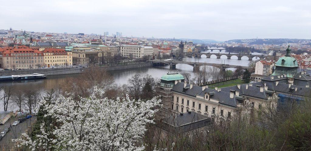 Rozkvetlá Praha