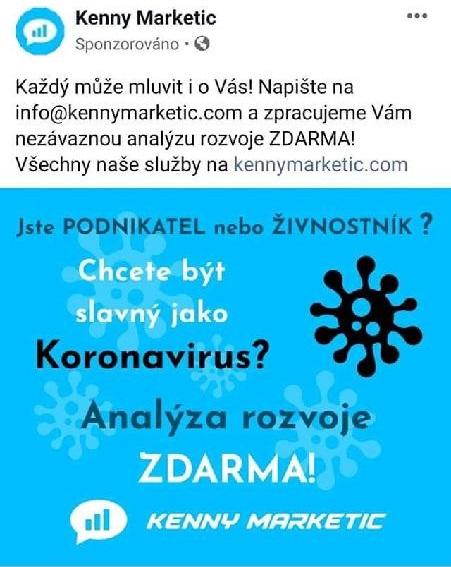 Být slavný jako koronavirus